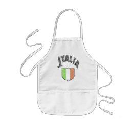 Italian Kids Cooking Apron