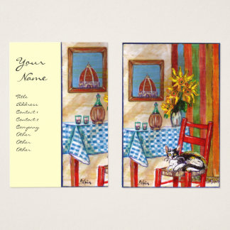 ITALIAN KITCHEN IN FLORENCE BUSINESS CARD