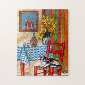 ITALIAN KITCHEN IN FLORENCE JIGSAW PUZZLE