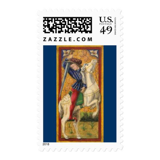 Italian Knight Postage