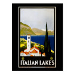 Italian Lakes Postcard