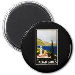Italian Lakes Refrigerator Magnets
