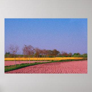 Italian Landscape 1 Poster