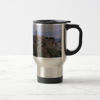 Italian landscape -Medieval City Travel Mug