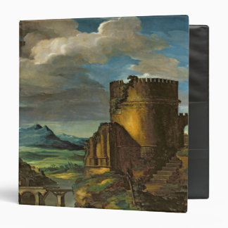 Italian Landscape or, Landscape with a Tomb 3 Ring Binders