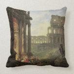 Italian landscape pillows