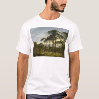 Italian Landscape Umbrella Pines by Hendrik Voogd T-Shirt