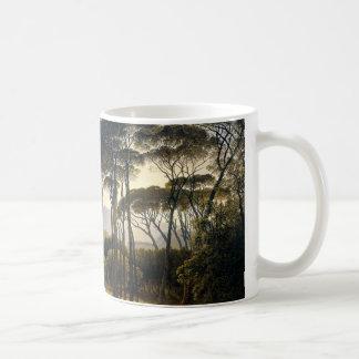 Italian Landscape with Stone Umbrella Pines Mug