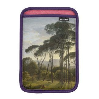Italian Landscape with Umbrella Pines Oil Painting iPad Mini Sleeve