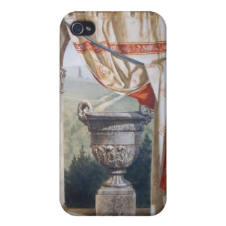 Italian landscape with urn iPhone 4/4S cases