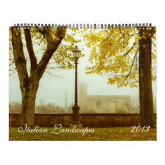 Italian Landscapes 2013 Calendar