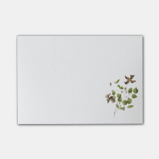 Italian leather flower(Clematis) by Redouté Post-it® Notes