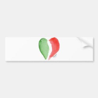 Italian love bumper sticker