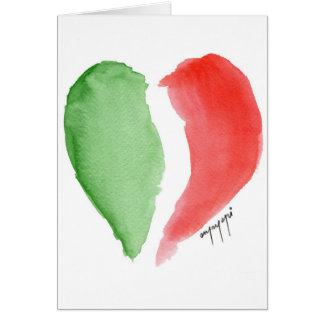 Italian love card