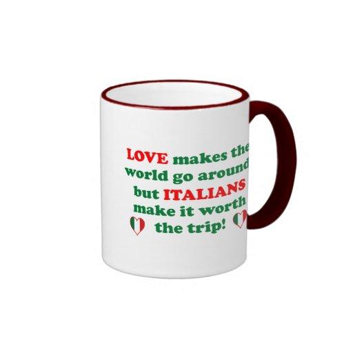 Italian Love Coffee Mugs