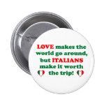 Italian Love Pin