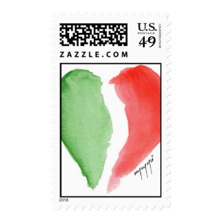 Italian love postage