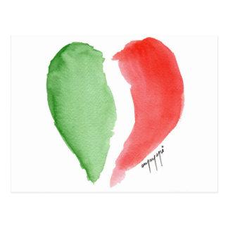 Italian love postcard