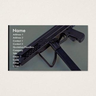Italian Luigi Franchi 9mm sub machine gun Business Card
