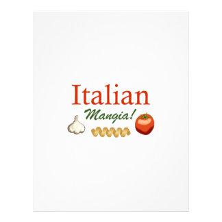 ITALIAN MANGIA LETTERHEAD