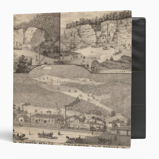 Italian Marble Mills and Quarries 3 Ring Binder