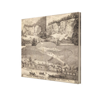 Italian Marble Mills and Quarries Canvas Print