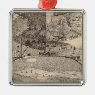 Italian Marble Mills and Quarries Metal Ornament