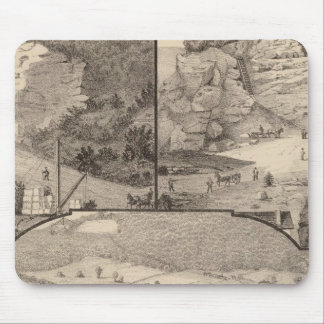 Italian Marble Mills and Quarries Mouse Pad