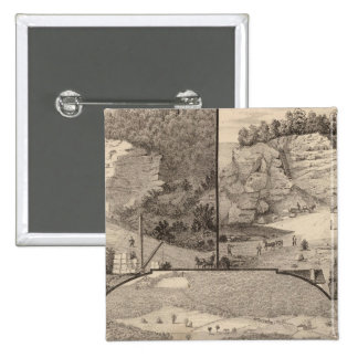 Italian Marble Mills and Quarries Pinback Button