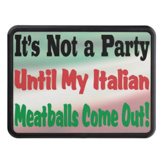 Italian Meatballs Trailer Hitch Hitch Covers