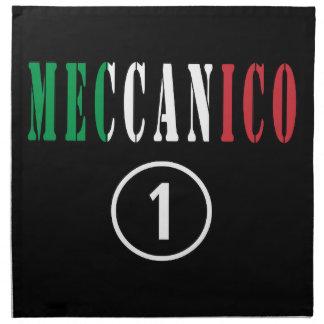 Italian Mechanics : Meccanico Numero Uno Cloth Napkins