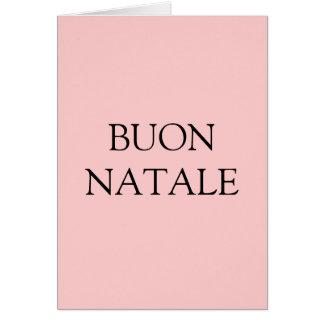 ITALIAN MERRY CHRISTMAS CARDS
