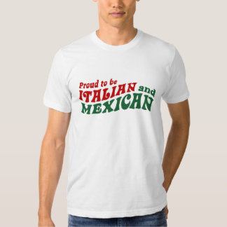 Italian Mexican T Shirts
