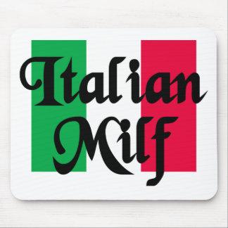 Italian Milf Mouse Pad