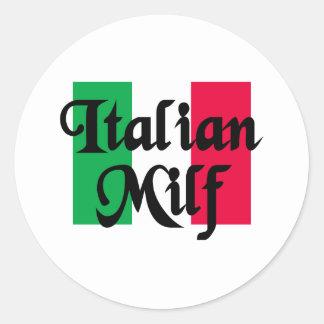 Italian Milf Sticker