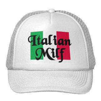 Italian Milf Trucker Hat