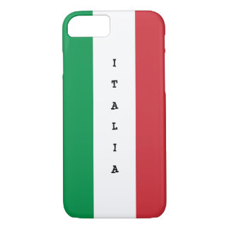 Italian modern flag iphone 7 case