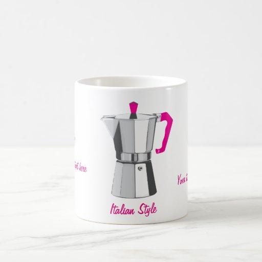 Italian Moka Coffee Mug