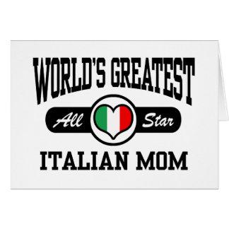 Italian Mom Card