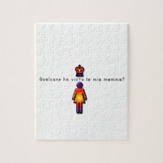 Italian-Mommy Jigsaw Puzzle