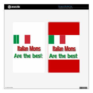 Italian Moms Skin For Kindle Fire