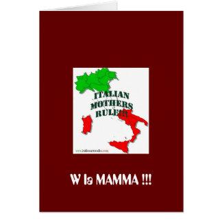 Italian Mother Card