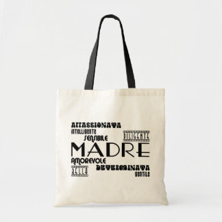 Italian Mothers : Qualities Canvas Bags