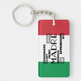 Italian Mothers : Qualities Keychain