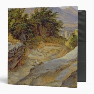 Italian Mountain Landscape, c.1824 3 Ring Binder