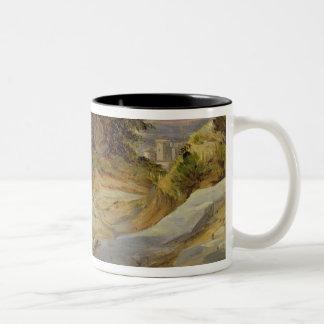 Italian Mountain Landscape, c.1824 Two-Tone Coffee Mug