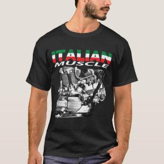 Italian muscle black T-Shirt