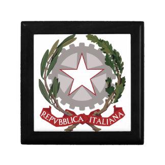 Italian National Emblem Keepsake Box