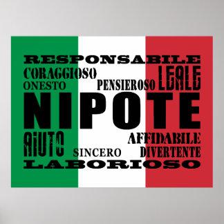Italian Nephews & Grandsons : Qualities Poster