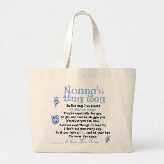 Italian - Nonna - Single Verse Large Tote Bag